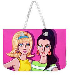 Go-go Girls Weekender Tote Bag