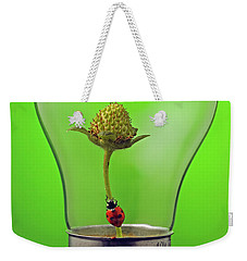 Go Green Weekender Tote Bag by William Lee