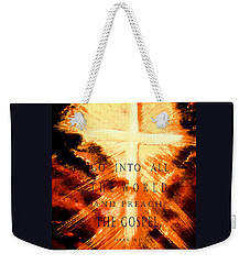 Go Into All The World Weekender Tote Bag