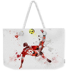 Goal Of The Season Weekender Tote Bag