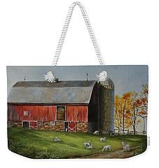 Goat Farm Weekender Tote Bag