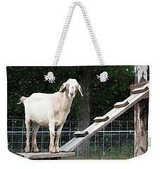 Goat Smile Weekender Tote Bag