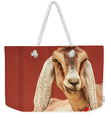 Goat With An Attitude Weekender Tote Bag