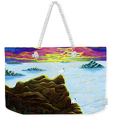 Goats On Dragons Weekender Tote Bag