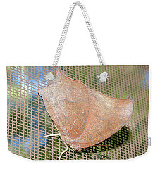 Goatweed Butterfly Weekender Tote Bag by Donna Brown