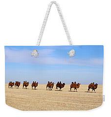 Gobi Camels Weekender Tote Bag