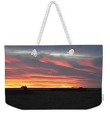 Gobi Sunset Weekender Tote Bag