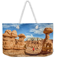 Goblin Valley State Park Weekender Tote Bag by JR Photography