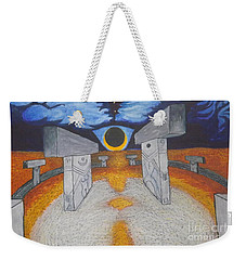 Goblitechi Vision Eclipse Weekender Tote Bag