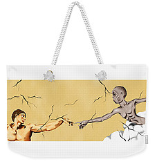 God And Man Weekender Tote Bag