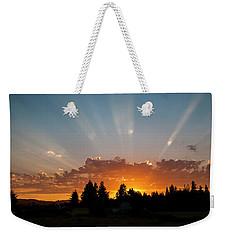 God Beams Weekender Tote Bag