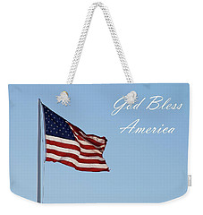 God Bless America Weekender Tote Bag