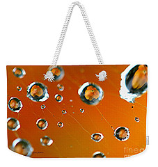 Weekender Tote Bag featuring the photograph God Creation by Yumi Johnson