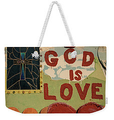 God Is Love Weekender Tote Bag