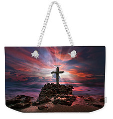 God Is My Rock Special Edition Fine Art Weekender Tote Bag