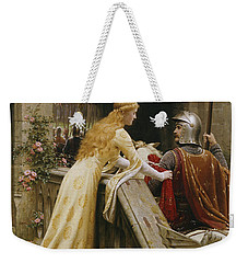 God Speed Weekender Tote Bag by Edmund Blair Leighton