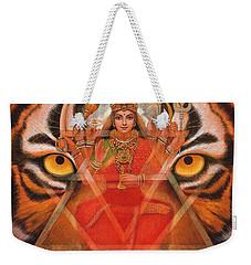 Goddess Durga Weekender Tote Bag