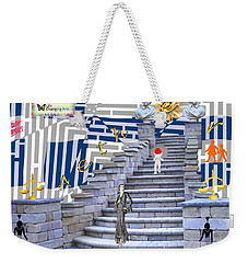 Goddess Enters Weekender Tote Bag