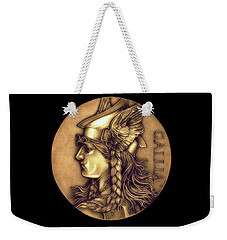 Goddess Of Gaul Weekender Tote Bag by Fred Larucci