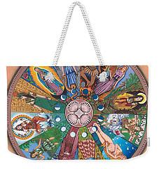 Goddess Wheel Guadalupe Weekender Tote Bag