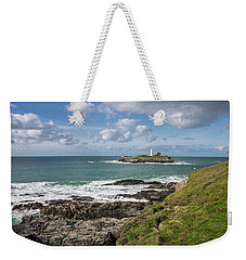 Godrevy Lighthouse 3 Weekender Tote Bag