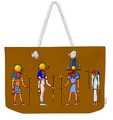 Gods And Goddess Of Ancient Egypt Weekender Tote Bag