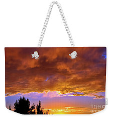 Weekender Tote Bag featuring the photograph God's Artwork by Gina Savage
