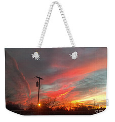 Weekender Tote Bag featuring the photograph God's Beauty by Stacy C Bottoms