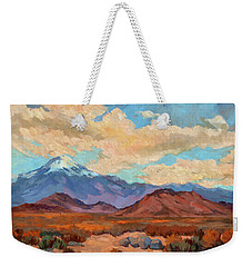 God's Creation Mt. San Gorgonio  Weekender Tote Bag by Diane McClary