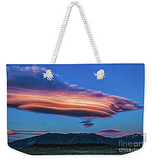 God's Footprint Weekender Tote Bag by Mitch Shindelbower