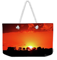 God's Gracful Sunset Weekender Tote Bag