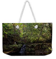 Weekender Tote Bag featuring the photograph God's Handwriting - Landscape Art by Jordan Blackstone