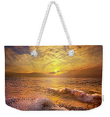 Weekender Tote Bag featuring the photograph Gods Natural Cure by Phil Koch