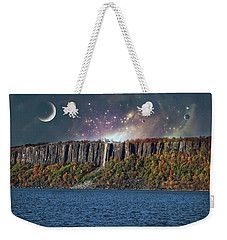 God's Space Over Planet Earth Weekender Tote Bag
