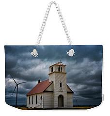 God's Storm Weekender Tote Bag by Darren White