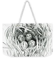 Godwit Nest Weekender Tote Bag
