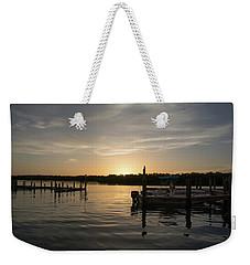 Goin Fishin Weekender Tote Bag by John Black
