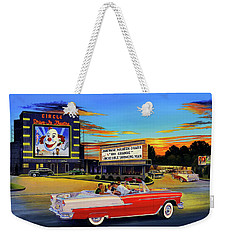 Goin' Steady - The Circle Drive-in Theatre Weekender Tote Bag