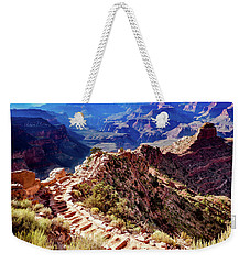 Going Down Weekender Tote Bag