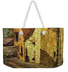 Going Downhill And Round The Bend Weekender Tote Bag