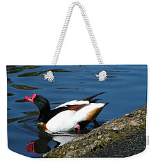 Going For A Swim Weekender Tote Bag