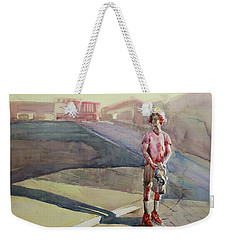 Coming Home Weekender Tote Bag by Becky Kim
