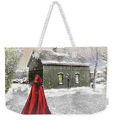 Weekender Tote Bag featuring the photograph Going Home For Christmas by Mary Timman
