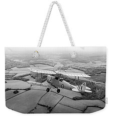 Weekender Tote Bag featuring the photograph Going Solo by Gary Eason