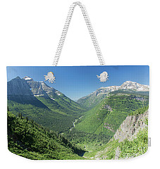 Going-to-the-sun Road Mountain Valley Weekender Tote Bag