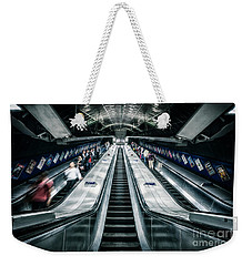 Going Underground Weekender Tote Bag