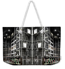 Weekender Tote Bag featuring the photograph Going Up by Brian Jones