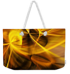 Gold And Shadows Weekender Tote Bag