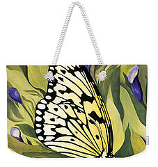 Gold Butterfly In Branson Weekender Tote Bag