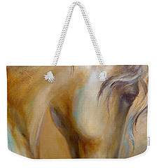 Gold Dust 1 Weekender Tote Bag by Dina Dargo